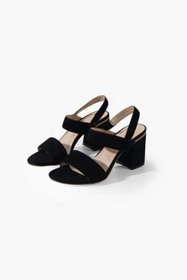 Genuine People Block-Heel Strappy Sandals