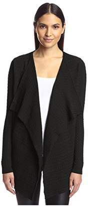 Society New York Women's Cable Cascade Cardigan Sweater