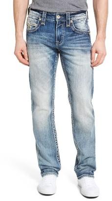 Men's Rock Revival Alternative Straight Leg Jeans $169 thestylecure.com