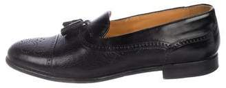 Mezlan Leather Tassel Brogues