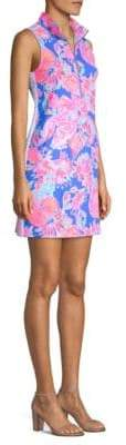 Lilly Pulitzer Skipper Sleeveless Collared Shift Dress