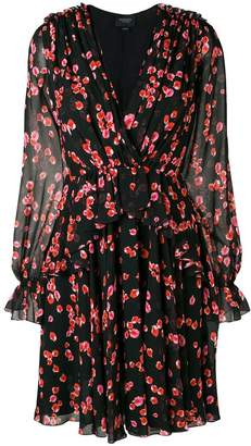 Giambattista Valli wrap front floral dress