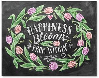 "Lily And Val Happiness Blooms From Within Art Print - 8"" x 10"""