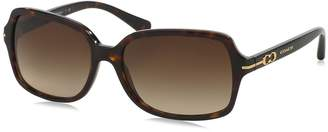 Coach Women's Gradient Blair HC8116-500113-56 Rectangle Sunglasses