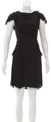For Love & Lemons Ruffle-Trimmed Mini Dress w/ Tags