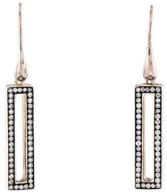 Ippolita Diamond Rock Star Candy Small Rectangular Drop Earrings