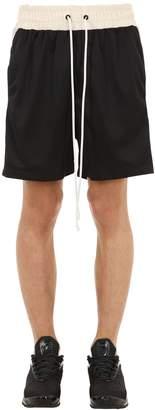 Daniel Patrick Mesh Gym Shorts W/ Logo Side Bands