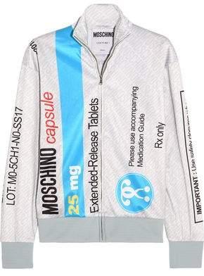Moschino Printed Jersey Sweatshirt