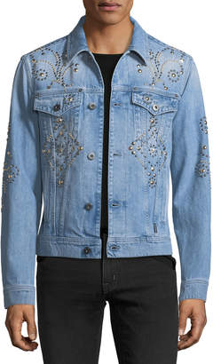 Versace Studded Denim Jacket