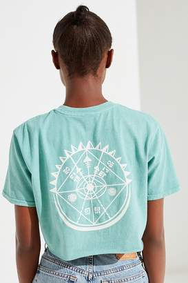 Urban Outfitters Compass Cropped Tee