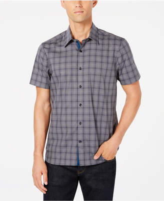 Ryan Seacrest Distinction Men's Plaid Shirt