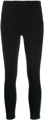 DKNY side stripe leggings