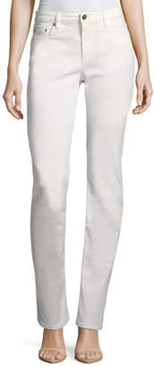 Roberto Cavalli Mid-Rise Straight-Leg Stretch-Denim Jeans