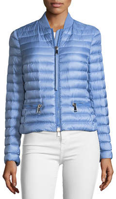 at Neiman Marcus · Moncler Blen Fitted Down Jacket