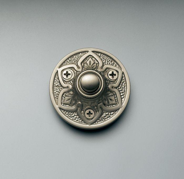 Round Embossed Doorbell