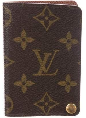 Louis Vuitton Monogram Travel Photo Holder