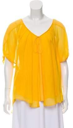 Diane von Furstenberg Merill Silk Top