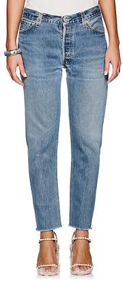 RE/DONE Women's Relaxed Crop Levi's® Jeans