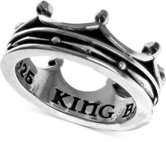 King Baby Studio Crown Ring in Sterling Silver