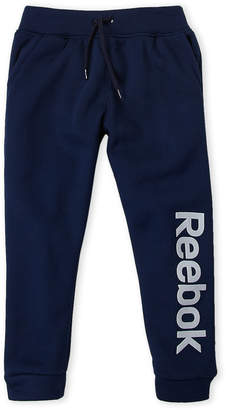 Reebok Boys 4-7) Navy Drawstring Fleece Sweatpants