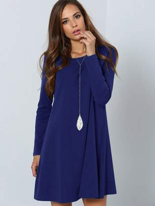Shein Solid Tunic Dress