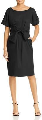 Donna Karan Tie-Waist Shirt Dress