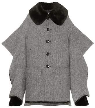 Junya Watanabe Herringbone wool jacket