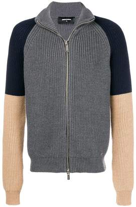 DSQUARED2 colour block cardigan