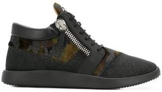 Giuseppe Zanotti Design Runner camouflage sneakers