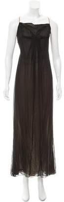 Bill Blass Layered Maxi Dress