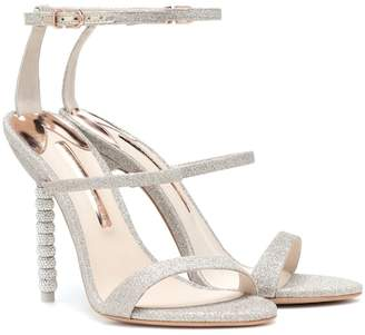 Sophia Webster Rosalind crystal-embellished glitter sandals