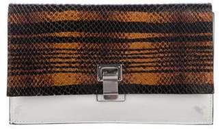Proenza Schouler Leather Lunch Clutch