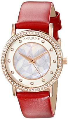 Akribos XXIV Amazon Exclusive Women's AK791RD Watch with Band