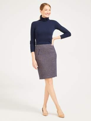 Kenmare Skirt in Houndstooth