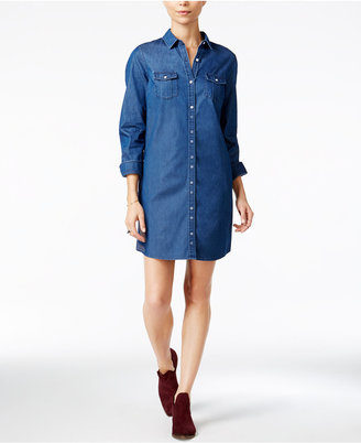Maison Jules Chambray Shirtdress, Only at Macy's $79.50 thestylecure.com