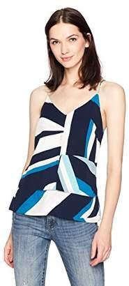 Calvin Klein Jeans Women's Sleeveless Stripe Printed Cami