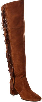 Frye Jodi Fringe Over-The-Knee Suede Boot