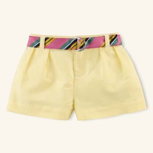 Pleated Oxford Short