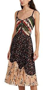 Jason Wu Women's Floral Chiffon Pleated Midi-Dress