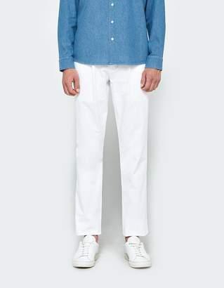 Unis Davis Pant in White