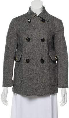 DSQUARED2 Double-Breasted Tweed Jacket