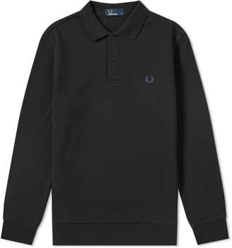 Fred Perry Authentic Long Sleeve Fleeceback Polo