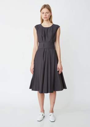 Aspesi Cap Sleeve Dress with Self Tie Belt