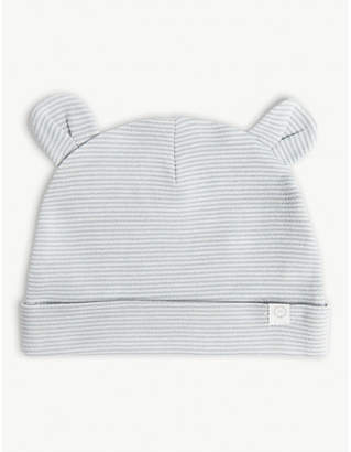 ef3e9380424 BABY MORI Cotton-blend hat with ears 0-24 months