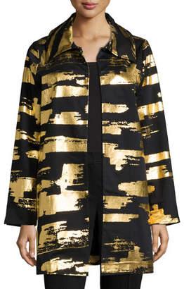 Berek Golden Glow Long Drama Jacket, Plus Size