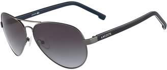 Lacoste Unisex Pilot Shape L.12.12 Sunglasses