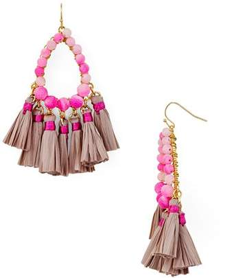 Aqua Tassel Earrings - 100% Exclusive