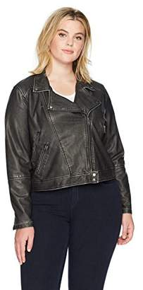 Lysse Women's Plus Size Jones Vegan Jacket