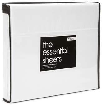 Bloomingdale's Essentials 400TC Wrinkle Free Sheet Set, Twin - 100% Exclusive