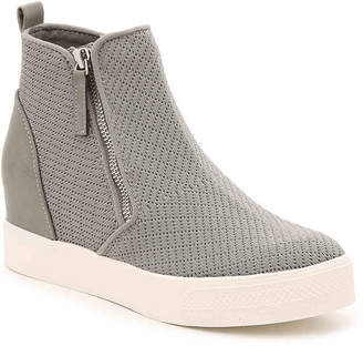a8f57ac44ad Steve Madden Loxley Wedge High-Top Sneaker - Women s
